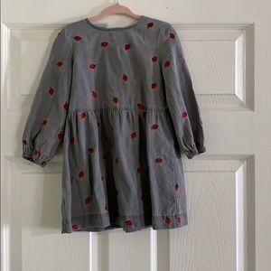 A baby's dress